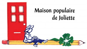 Logo avec texte Maison populaire de Joliette