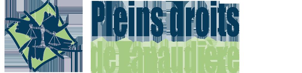Logo de plein droit de Lanaudière - Balance de la justice en santé mentale