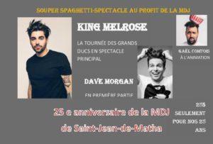 King Melrose et Dave Morgan